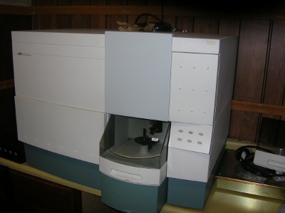 facscalibur used for flow cytometry used at the Windsor Animal Clinic